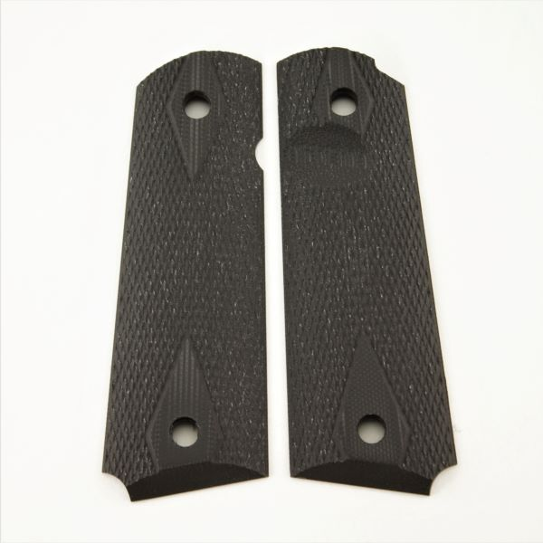 1911 G10 DD Checkered Black