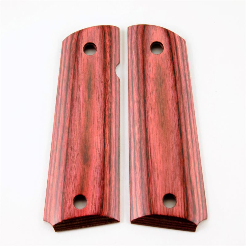 1911 Grip Reddish Laminate Smooth
