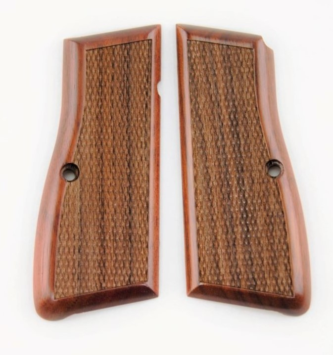 Browning Hi Power Walnut Grip CheckeredH