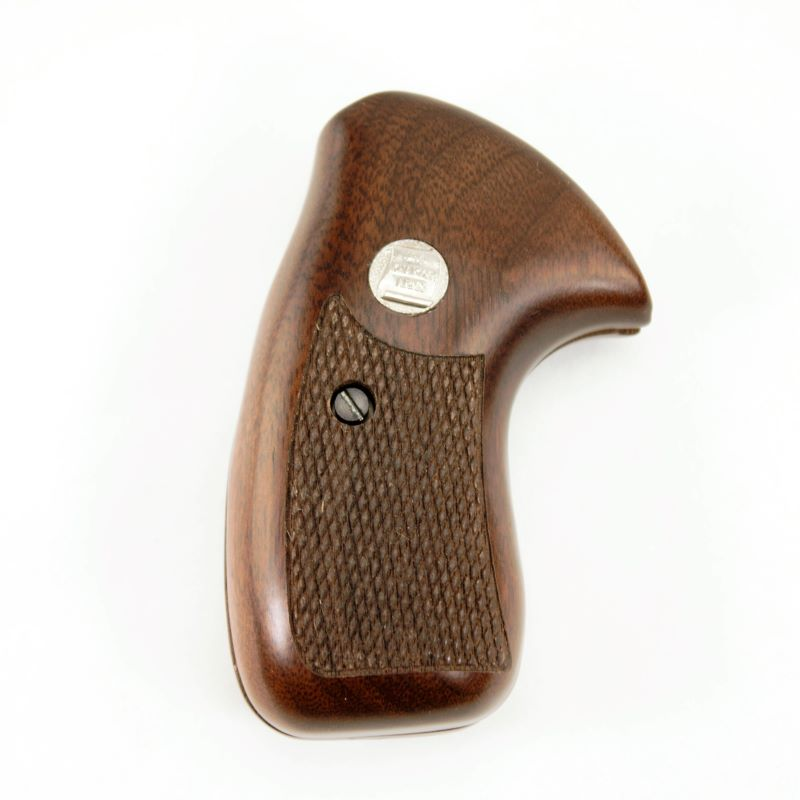 Charter Arms Walnut Grip Checkered