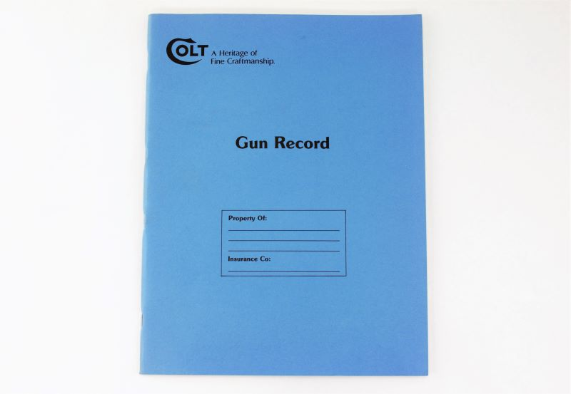 Colt Firearm Transaction Record