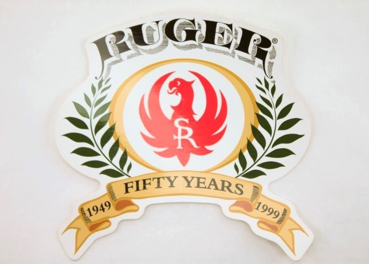 Ruger SR 50th Anniversary Firearms Sticker