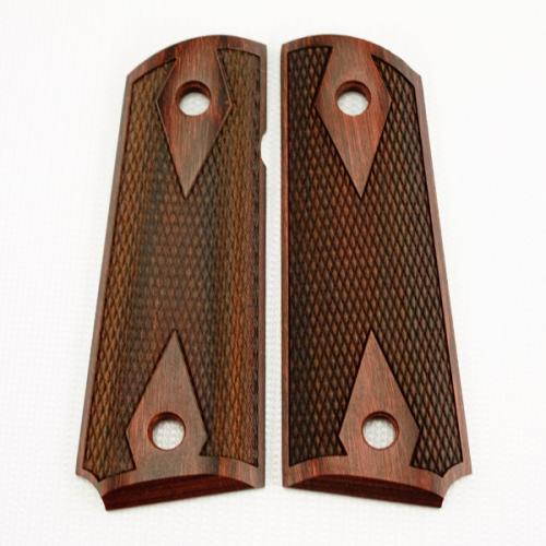 1911 Compact Rosewood Laminate Double Diamond Grip