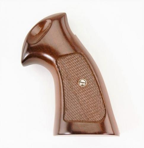 Smith & Wesson K Frame Walnut Target Checkered Grip - 925